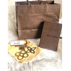 💘 💯% Authentic Louis Vuitton TAG CHAIN BAG CHARM